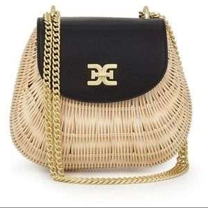 Sam Edelman Millie Flap Basket Bag (New)